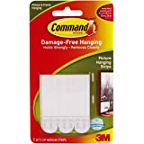 3M Command Picture & Mirror Hanging Strips- Med 1Pk