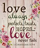 Best Mamá nunca placas - Amor siempre protege, confía en, esperanzas y nunca Review