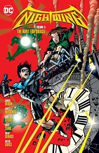 Nightwing Vol. 5 The Hunt For Oracle Cover Image