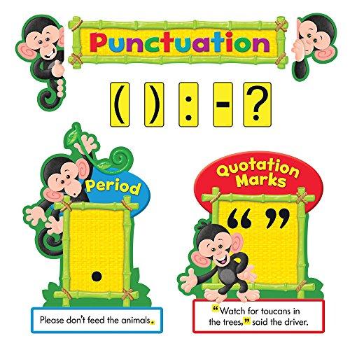 nkey Mischief Interpunktion Bulletin Board Set (27Stück) ()