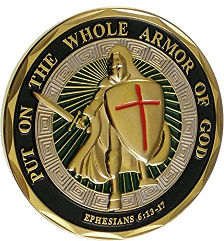 Put On The Whole Armor Of God (Ephesians 6:13-17) Challenge Coin (Eagle Crest 2424) by Eagle Crest