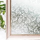 CottonColors, La película de Goma de alta decoración estática de la ventana 3D Privacidad, 3Ft X...