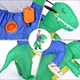 Anself Aufblasbares Kostüm Carry-me Huckepack Dinosaurier Cosplay für Fasching Erwachsene / Kinder Optional - 2