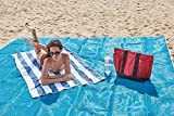 Strandtuch anti-sabbia für Ihre Sommer ohne Stress und ohne Sand-Liebhaber stehen immer sauber 200x 200cm - 5