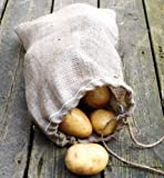 Nutley's 30 x 45 cm Hessian Drawstring Potato Sack