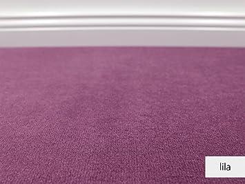Teppichboden muster  Teppichboden Auslegware Vorwerk Bijou UNI Lila Muster: Amazon.de ...