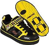Heelys Bolt, zapatos de gimnasia unisex para niños, multicolores (negro/amarillo) 31 EU