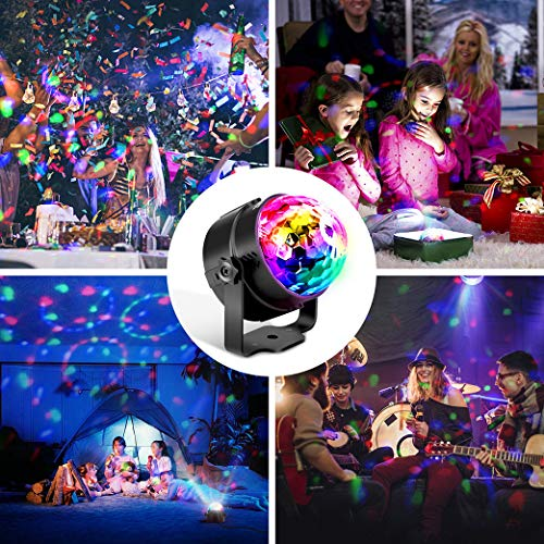 12 99 35 discokugel led party lampe musikgesteuert omeril disco lichteffekte discolicht. Black Bedroom Furniture Sets. Home Design Ideas