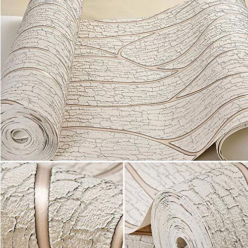 SX1560 Tapete natürliche Pflanzenkontakttapete, Selbstklebende abnehmbare Pflanzentapete dekorative Wand, bedeckt mit Vintage Holz, schöne Muster, Wohnzimmer-Schlafzimmer-Tapete (Farbe : A) (Natürliche Tapeten)