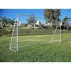 Display4top Soccer Goal 12 'x 6' W/Net Ancre de sangles, Ballon de football d'entraînement des Ensembles