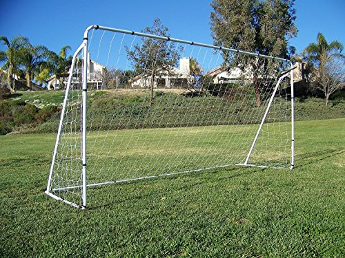 Display4top Soccer Goal 12 'x 6' W/Net Ancre de sangles, Ballon de football d'entraînement des Ensembles