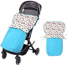Househome Universal Schlafsack für Kinderwagen, Sicheres Baby Bunting-Tasche Fußwärmer für Kleinkinder, abnehmbarer 2-in-1 Kinderwagen Schlafsack für Outdoor-Reisen im Herbst und Winter