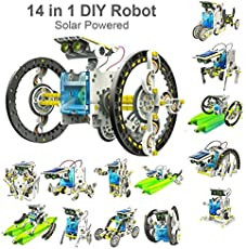 Kids Choize 14 in 1 Solar Robot Kit Educational DIY Assembled puzzle Toys Car Boat Animal Blocks for Kid