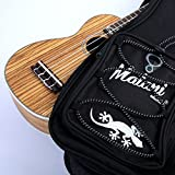 Deluxe Tenor Ukulele Gig Bag: 10mm Padded Soft Carry Case for Uke, Ukelele Bild 2