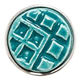 Noosa Chunk Eban green ceramic