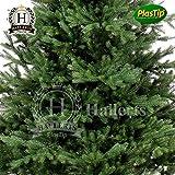 Künstlicher Weihnachtsbaum Spritzguss 120 cm Nobilistanne OXBURGH Edeltanne Kunsttanne Spritzgusstanne Hallerts Plastip - 2