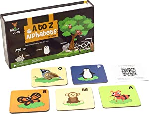 Augment Works Magic Joey Augmented Reality 26 Flash Cards A Z Alphabets With Animals Birds And