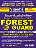 Vinod's FOREST GUARD (Best-Seller) JKSSB Strictly As Per NEW SYLLABUS Prescribed by GOVERNMENT OF JAMMU & KASHMIR