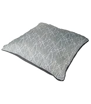 pillow and blanket. vango transform pillow and blanket - grey print a