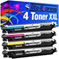 PlatinumSerie® 4 Toner-Patronen XXL kompatibel für HP CE310A CE311A CE312A CE313A 126A LaserJet Pro M 270 Series M 275 M 275 T M 275 U