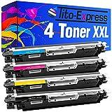 PlatinumSerie® 4 Toner-Patronen XXL kompatibel für HP CE310A CE311A CE312A CE313A 126A Color LaserJet Pro CP 1022 CP 1023 CP 1025 NW CP 1025