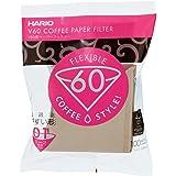 فلتر ورقي للقهوة V60 من هاريو