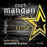Curt Mangan 80/20 Bronze 11-52 jeu de cordes pour guitare acoustique
