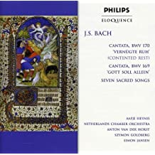 J. S. Bach: Cantata BWV 170 / Cantata BWV 169 / Seven Sacred Songs by Aafje Heynis (2002-01-07)