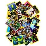 Panini - LEGO Ninjago - 50 Sammelsticker gemischt - keine doppelten Bilder - Deutsche Ausgabe
