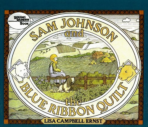 Sam Johnson and the Blue Ribbon Quilt (Reading Rainbow Books) (Quilts Ribbon Blue)