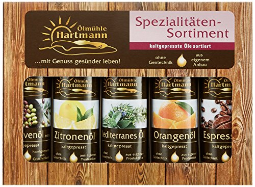 Ölmühle Hartmann Mini Sortiment rot, Set 500ml (5x 100 ml)