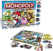 Hasbro C1815100 Monopoly - Monopoly Gamer - Mario Edition, Familienspiel