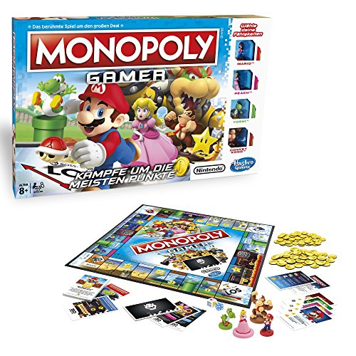 gamer ta e Hasbro Gaming C1815100 - Monopoly Gamer Familienspiel