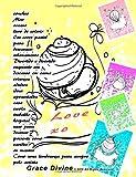 conchas Mar oceano livro de colorir Em cores pastel para descansar relaxamento Divertido e divertido enquanto em descanso em cama crianças adultos para sempre pelo artista Grace Divine