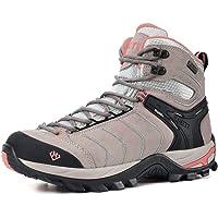 XPETI Women's Hiking Walking Boots High Rise Trekking Shoes