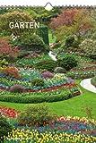 Gärten 2012. Kalender 23,7 x 34 cm mit Ringbindung
