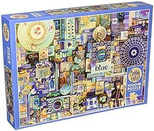 Cobblehill 80150 - Puzzle (1000 Piezas), Color Azul