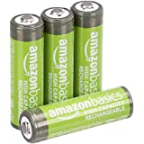 Amazon Basics Oplaadbare NiMH AA-Batterijen 2400 Mah, 4 Stuks