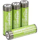 Amazonbasics Oplaadbare NiMH AA-Batterijen 2500 Mah, 4 Stuks