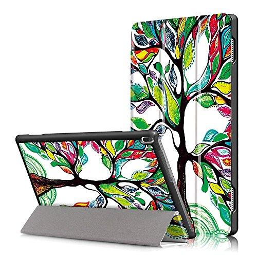 custodia per tablet lenovo DETUOSI Custodia per Lenovo Tab 4 10 (TB-X304F/TB-X304L) 2017 Tablet