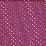Lila mit rosa mit weißen Punkten, 100% feines