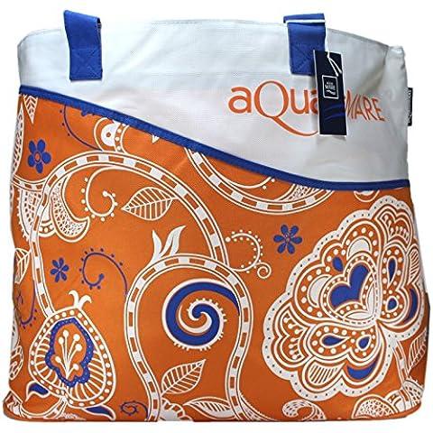 Aqua di Mare Bolsa de playa Para Mujer Orange