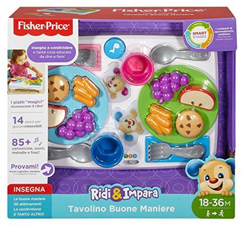 Fisher-price tavolino buone maniere, fbn19