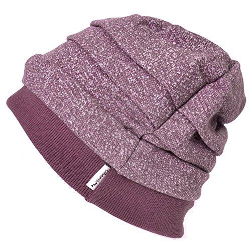 Casualbox Tous Saison Tombant Bonnet Chapeau Unisexe Bouffant Bonnet Coton Hommes Dames