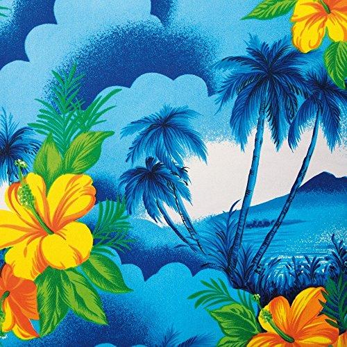Apple iPhone 6 Housse Étui Silicone Coque Protection Vacances Palmiers Hawaï Étui en cuir bleu marine