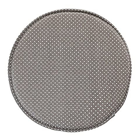 Fabric Chair Seat Student Thickened Round Pad Bar Stool Mat (color7)