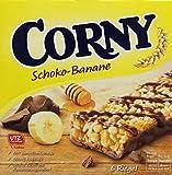 CORNY Schoko-Banane, Müsliriegel, 150g Schachtel mit 6 Riegeln