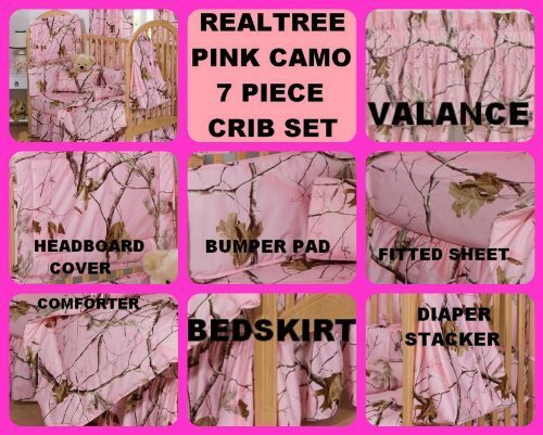 realtree-pink-camo-7-piece-baby-crib-set-gift-set-save-by-bundling-by-realtree