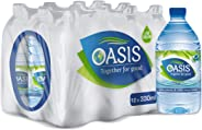 Oasis Still Water - 330 ml (Pack of 12)