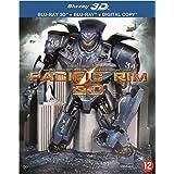Pacific Rim (3D & 2D) Disc Box Set & Molded Robot Statue
